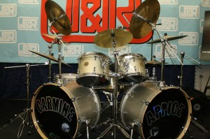 Carmine Appice's DDrum Kit - Front