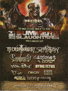 Decibel Tour Program: Summer Slaughter 2009