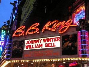 The Marquee: Johnny Winter & William Bell @ B.B. King's