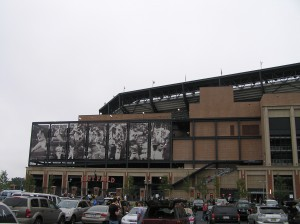 Citi Field - The Left Field Parking Lot View