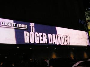 Nokia Theatre NYC: Roger Daltrey hits The Big Apple