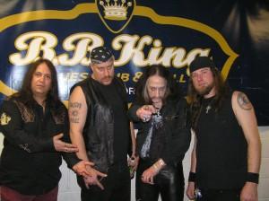 Backstage @ B.B. Kings: Pentagram Group Shot