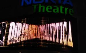 nokia theatre times square marquee
