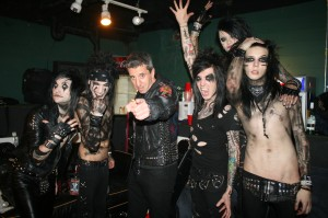 black veil brides by piercingmetal, black veil brides, andy sixx, jason flom