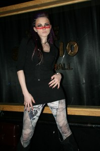 sharon toxic designs, sharon ehman, toxic vision clothing, toxic visions fashion show