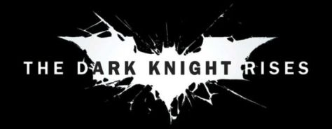 the dark knight rises movie logo, warner brothers pictures