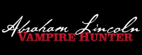 abraham lincoln: vampire hunter movie logo