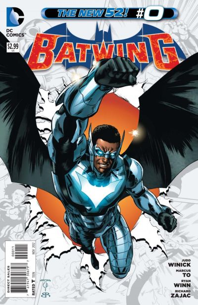 Comic - Batwing 0 - 2012