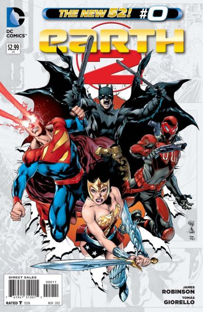 Comic - Earth 2 0 - 2012