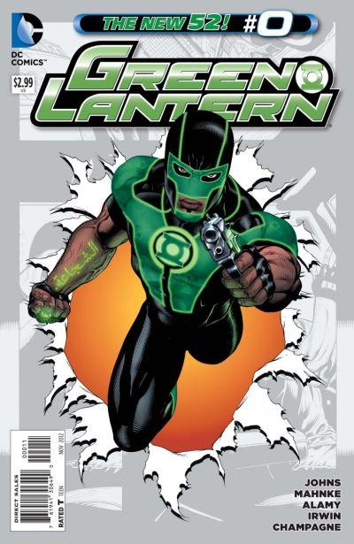 Comic - Green Lantern 0 - 2012