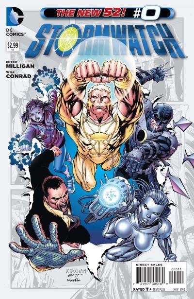 Comic - Stormwatch 0 - 2012