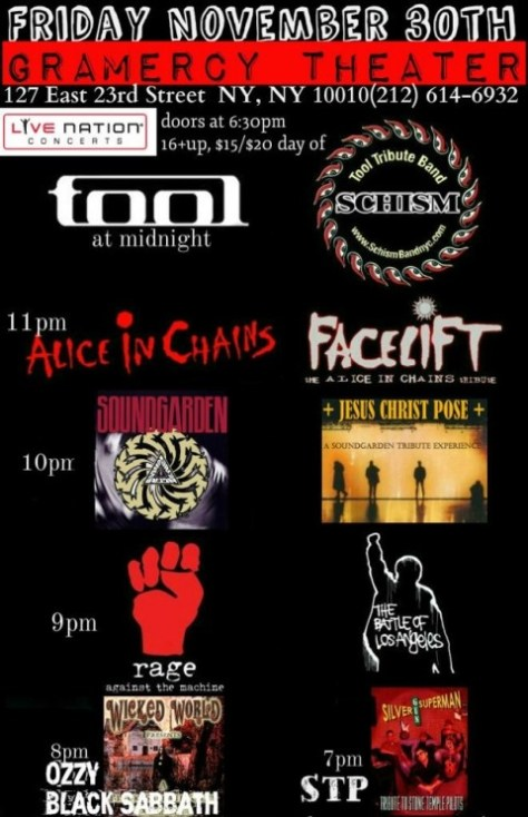 Poster - Tribute Fest - 2012