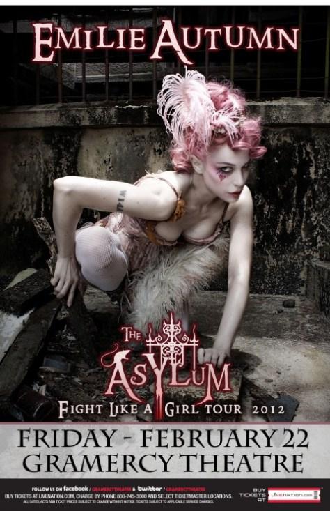Poster - Emily Autumn - 2013