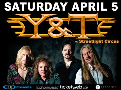 Poster - Y&T at Stage 48 - 2014