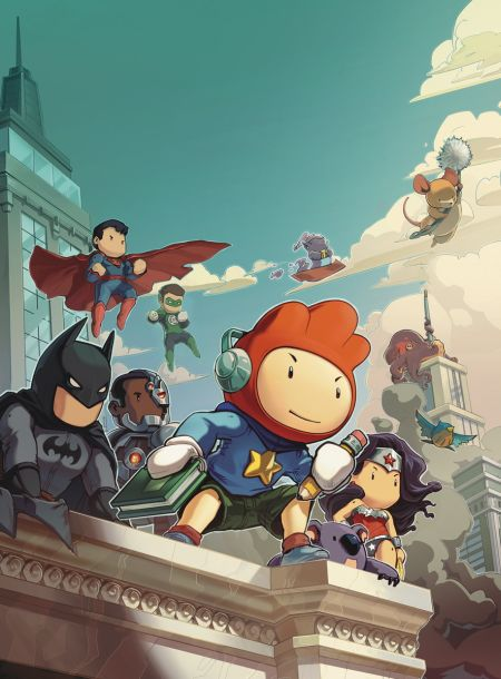 """Scribblenauts Unmasked Crisis Of Imagination"" #1"