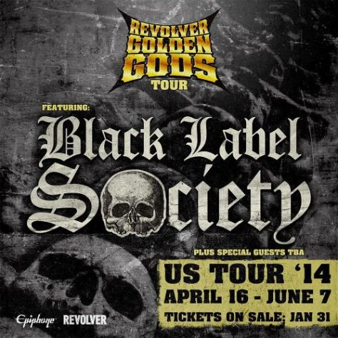 Tour - Revolver Golden Gods Tour - 2014