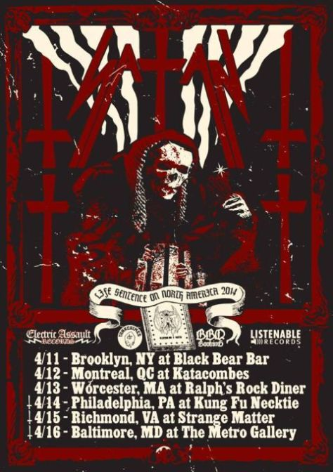 Tour - Satan - 2014
