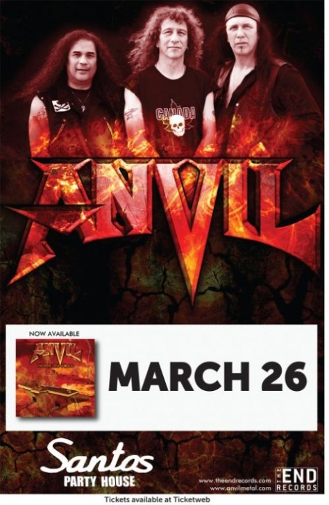 Poster - Anvil at Santos - 32014