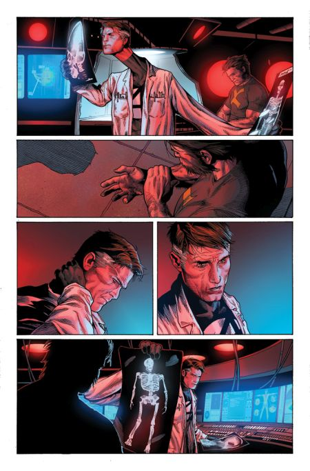 comic book pages, marvel comics, marvel entertainment, death of wolverine