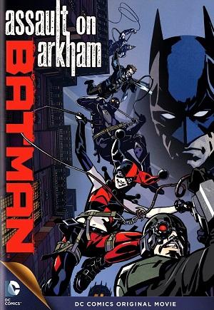 DVD - Batman Assault On Arkham - 2014