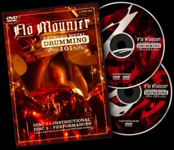 """Extreme Metal Drumming 101"" by Cryptopsy's Flo Mounier"