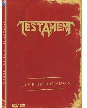 """Live In London"" (DVD) by Testament"