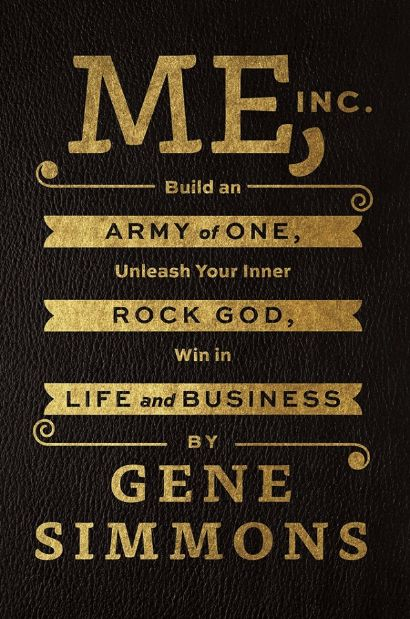 Book - Gene Simmons - Me