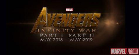 Logo - Avengers Infinity War - 2018