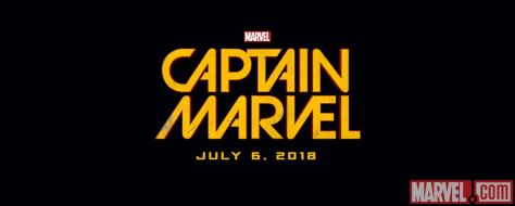 Logo - Captain Marvel - 2018
