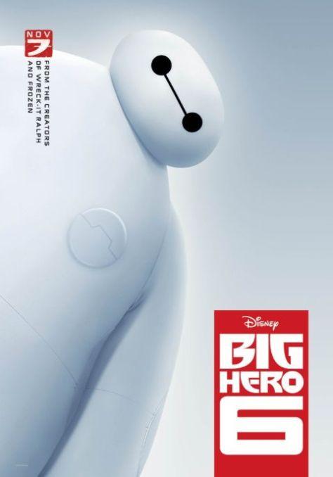 movie posters, big hero 6