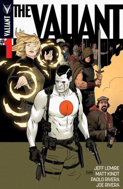 Comic - The Valiant 1 - 2014