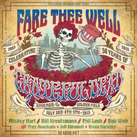 Poster - Grateful Dead - Fare Thee Well 2015