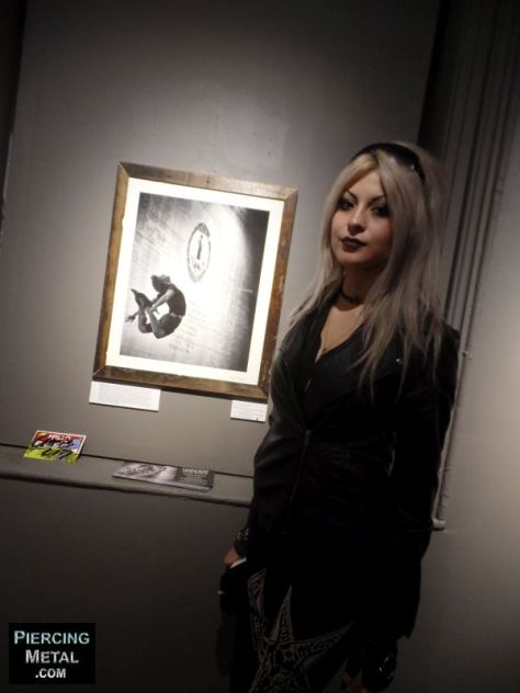 """d. randall blythe art opening, """"show me what you're made of"""" photo exhibit,"""
