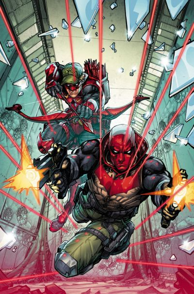 Comic - Red Hood and Arsenal 1 - 2015