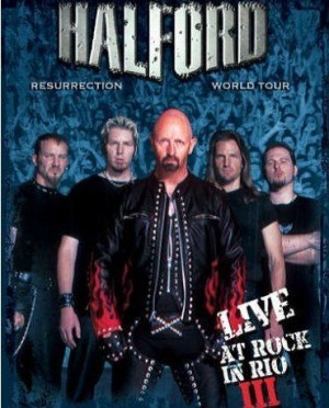 """""""Live At Rock In Rio III"""" by Halford"""