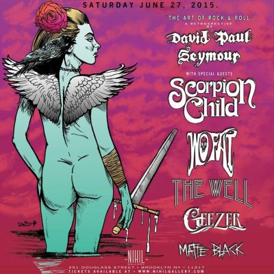 Poster - Art Of Rock and Roll at Nihil Gallery