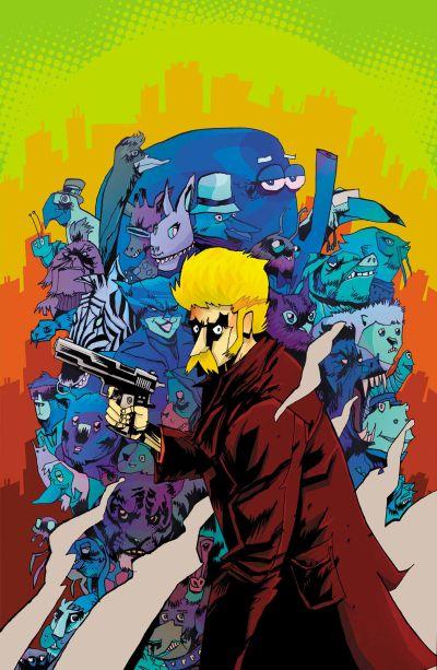 Comic - Howard The Human 1 - 2015