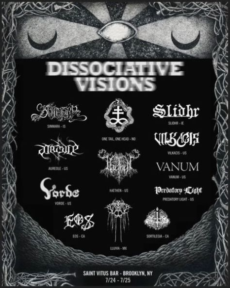 Posted - Dissociative Visions - 2015