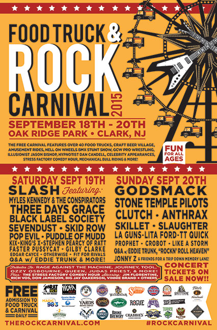 Poster - Food Truck and Concert 2 - 2015