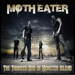 """The Thunder God Of Monster Island"" by Moth Eater"