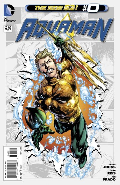 Comic - Aquaman 0 - 2012