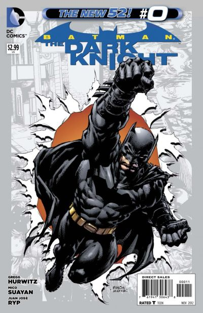 Comic - Batman The Dark Knight 0 - 2012