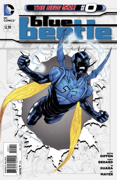 Comic - Blue Beetle 0 - 2012
