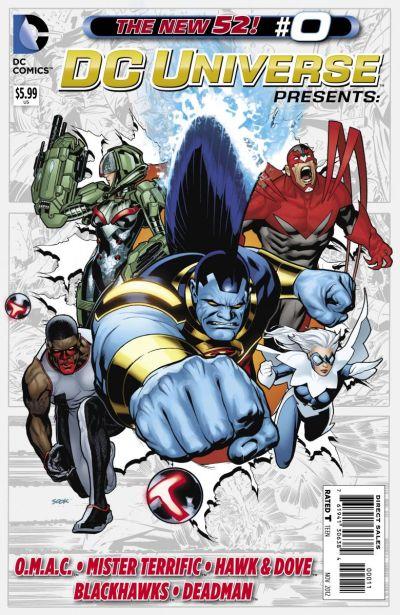 Comic - DC Universe Presents 0 - 2012