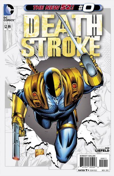 Comic - Deathstroke 0 - 2012