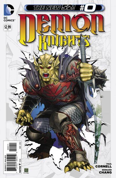 Comic - Demon Knights 0 - 2012