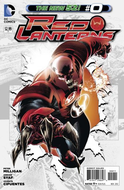 Comic - Red Lanterns 0 - 2012