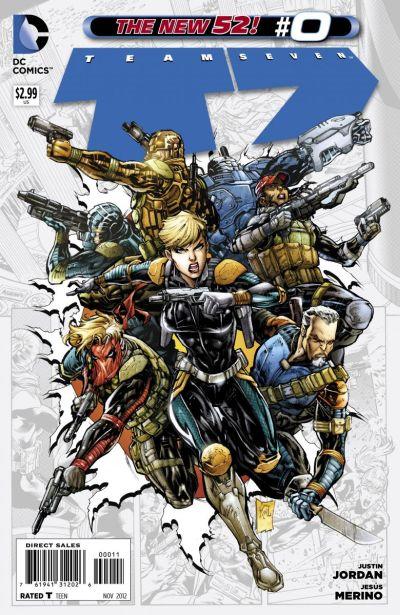 Comic - Team 7 0 - 2012