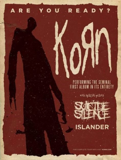 Tour - Korns 20th Anniversary - 2015