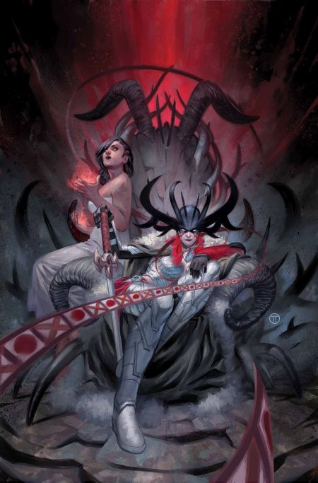 """Angela Queen Of Hel"" #1"